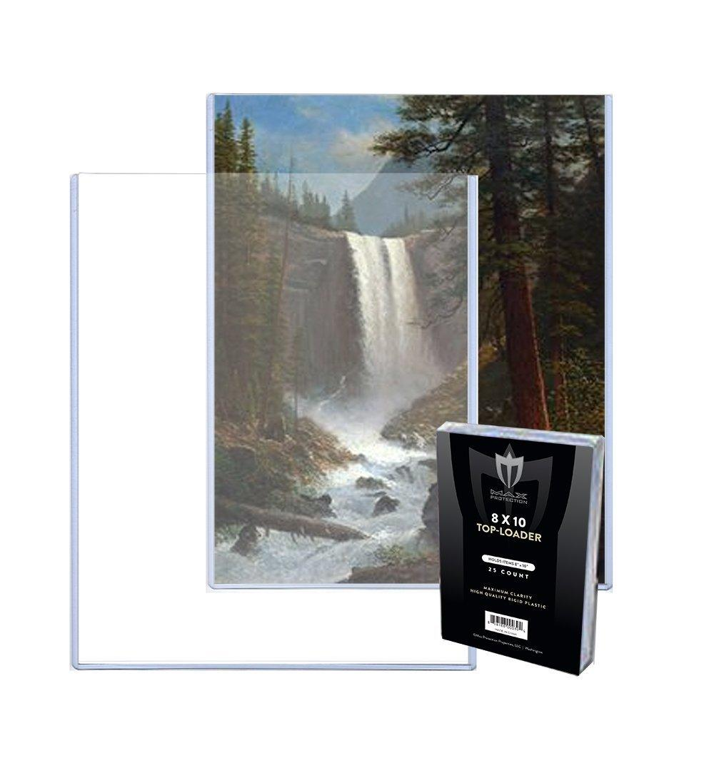 """8X10 50 FREE SHIPPING 8/"""" X 10/"""" TOP LOADER HOLDERS For Photographs"""
